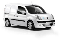 Renault Kangoo ZE 1 Renault Reveals Production Versions of All Electric Fluence Z.E. and Kangoo Van Z.E