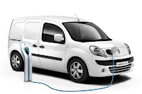 Renault Kangoo ZE 2 Renault Reveals Production Versions of All Electric Fluence Z.E. and Kangoo Van Z.E