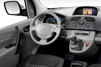 Renault Kangoo ZE 6 Renault Reveals Production Versions of All Electric Fluence Z.E. and Kangoo Van Z.E