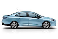 Renault Fluence ZE 4 Renault Reveals Production Versions of All Electric Fluence Z.E. and Kangoo Van Z.E