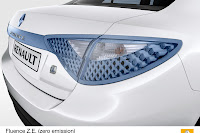 Renault Fluence ZE 5 Renault Reveals Production Versions of All Electric Fluence Z.E. and Kangoo Van Z.E