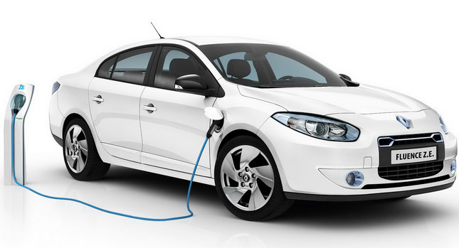Renault Fluence ZE 001 Renault Reveals Production Versions of All Electric Fluence Z.E. and Kangoo Van Z.E
