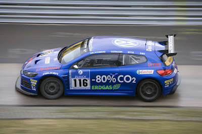 VW Scirocco GT24 CNG 1 VW Returns to the Ring with Improved Scirocco GT24 CNG