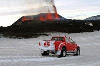 Toyota Hilux Iceland Volcano 68 Toyota Hilux Tackles Icelands Eyjafallajökull Volcano Hours Before Eruption