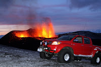 Toyota Hilux Iceland Volcano 71 Toyota Hilux Tackles Icelands Eyjafallajökull Volcano Hours Before Eruption