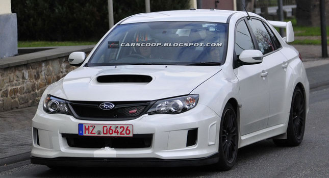Spied Subaru WRX STI Spec C Spotted Testing on the Nrburgring