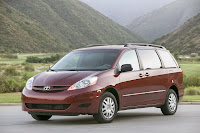 Whats One More? Toyota Announces Voluntary Safety Recall on 1998 2010 Sienna Minivans