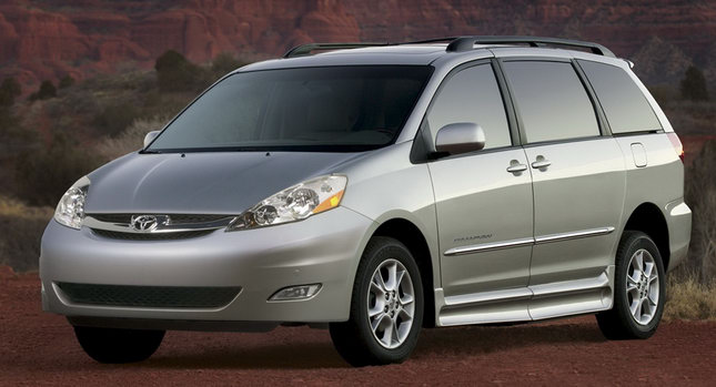Sienna Recall Minivan 0 Whats One More? Toyota Announces Voluntary Safety Recall on 1998 2010 Sienna Minivans