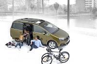 2011 Seat Alhambra MPV 10 New Seat Alhambra MPV: VW Sharans Twin Brother Officially Revealed
