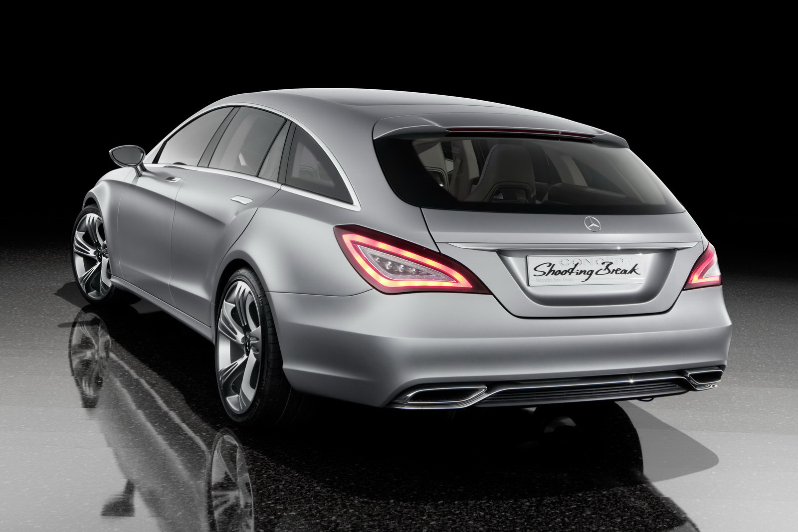 mercedes benz cls shooting brake concept wallpaper. Black Bedroom Furniture Sets. Home Design Ideas