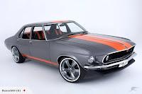 Folden Holden HQ Ford Mustang 7 The Folden: New Zealanders Create Half Holden HQ, Half Ford Mustang Mechanical Frankenstein