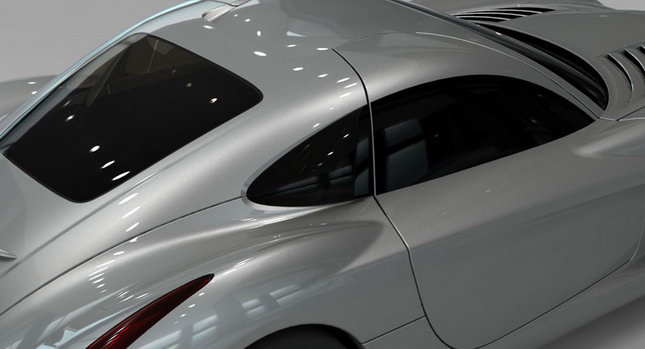 Panoz Teaser 1 Panoz Abruzzi Sports Car Teased Before Le Mans Reveal