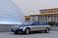 2011 Maybach 26 Beijing Auto Show: Maybachs Face lifted Offerings