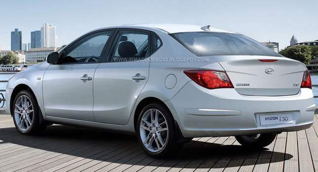 Hyundai i30 Sedan 0 Chop Shopped: Hyundai i30 Sedan and Kia Forte Station Wagon