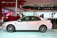 BAW C60 Saab 9 3 1 Chinas BAW Redoes the Saab 9 3: New C60 Sedan Snagged Ahead of Beijing Show