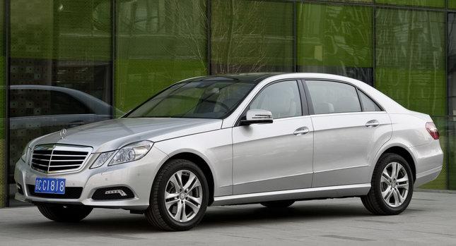 Mercedes E Class LWB 00 Its Bigger!: Mercedes Benz Launches E Class LWB in Beijing