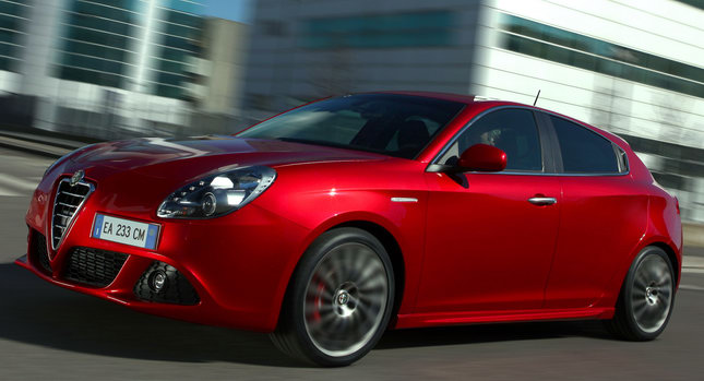 Alfa Romeo Giulietta 1 Alfa Romeo UK Announces Pricing for New Giuliette Including 235HP Cloverleaf Model Photos