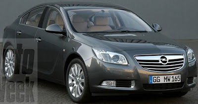 INSG 1 Opel Insignia: Prematurely Leaked on the Web