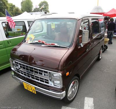 Japanese Mini Cars Replicating 1970's Chevy & Dodge Vans ...
