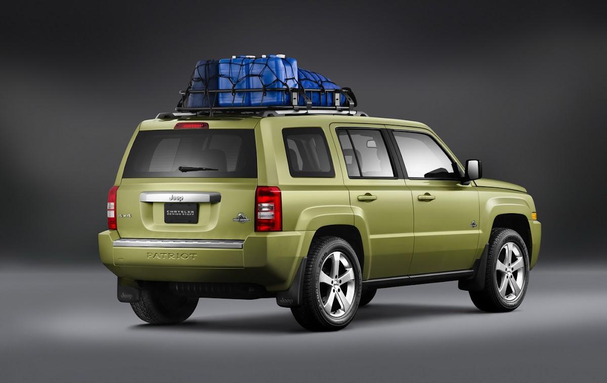 jeep patriot back country conceptmopar