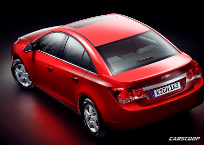 Chevrolet Cruze Sedan Live Pics From Paris Presentation Carscoops