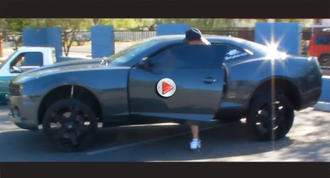 10 Camaro SS  Dropped 2010 Camaro SS on Hydraulics Photos Videos