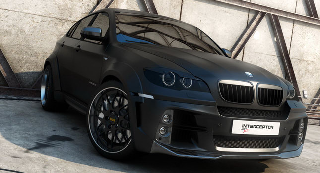 BMW X6 Interceptor 001 Russias Met R Creates the BMW X6 Interceptor Photos