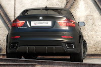 BMW X6 Interceptor 10 Russias Met R Creates the BMW X6 Interceptor Photos