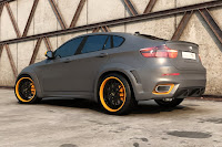 BMW X6 Interceptor 14 Russias Met R Creates the BMW X6 Interceptor Photos