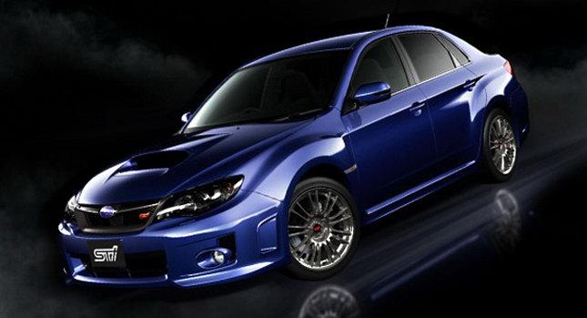 2011 Subaru Impreza STI Sedan 0 Subaru to Launch New Impreza WRX STI Sedan and Impreza XV in Japan Photos