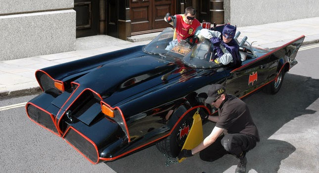 1966 batmobile replica comes under the hammer at auction