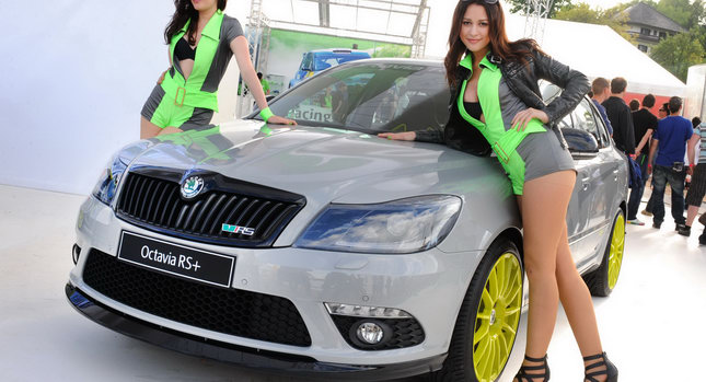 Skoda used the GTI event at the Austrian lake Wörthersee over 12 – 15 May to