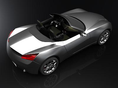 Alfa Romeo Spider Design Study