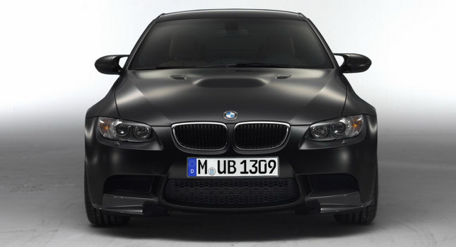These are the first official photos of the BMW M3 Coupe finished in the new