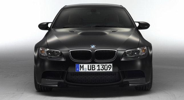 2011 BMW M3 Competition Frozen Black 001 2011 BMW M3 Coupe with Competition Package and New Frozen Black Matte Finish Photos