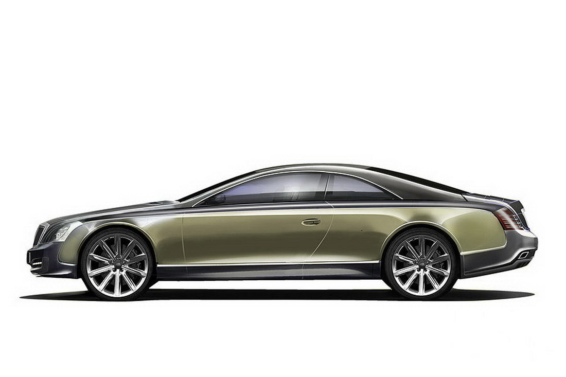 Maybach Coupe 57S: Official
