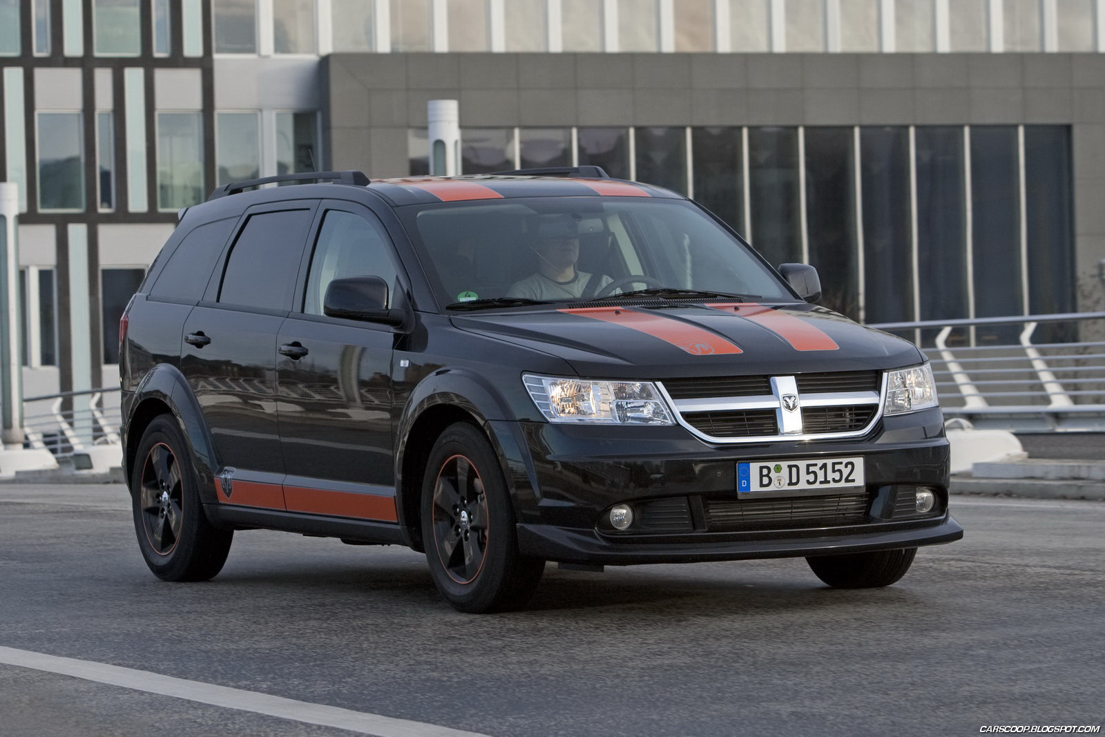 Car dodge 2011 dodge journey sr rally look special by irmscher