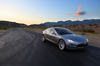 Tesla Model S 11 Tesla Partners Up with Toyota to Develop EVs Acquires NUMMI Plant Photos
