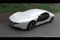 Audi A9 concept 2 Audi A9 Hybrid Sports Sedan Concept by Daniel Garcia Photos
