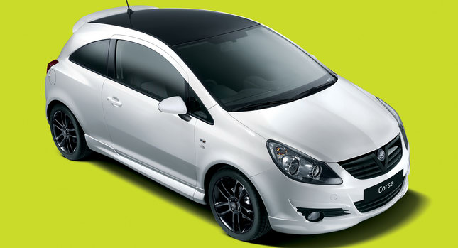 In Vauxhall's case, the new Corsa Black & White Limited Edition model