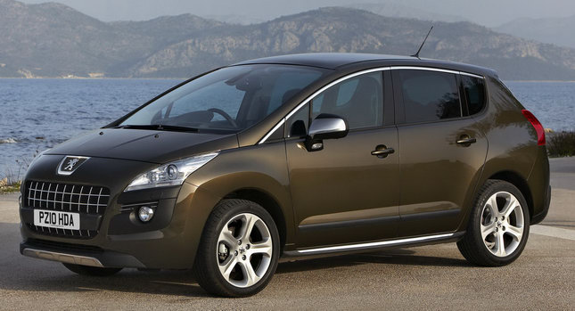 Peugfeot 3008 Crossover 0 Peugeot UK Launches 3008 with More Powerful Diesel and Six Speed Auto Photos