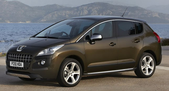 peugeot uk launches 3008 with more powerful diesel and six speed auto. Black Bedroom Furniture Sets. Home Design Ideas