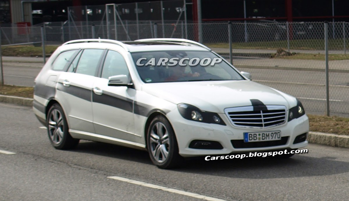 All Types mercedes e class estate 2010 : 2010 Mercedes-Benz E-Class Estate Scooped Lightly Camouflaged
