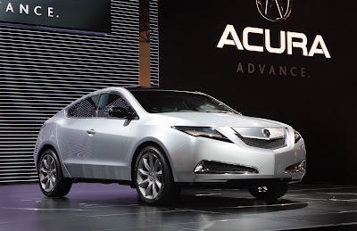 Acura ZDX 12 Acura ZDX Live Photos from the New York Auto Show