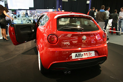 Alfa Romeo MiTo Veloce 6 Alfa Romeo MiTo Veloce Sub GTA model with 180HP Debuts at AutoRAI Photos