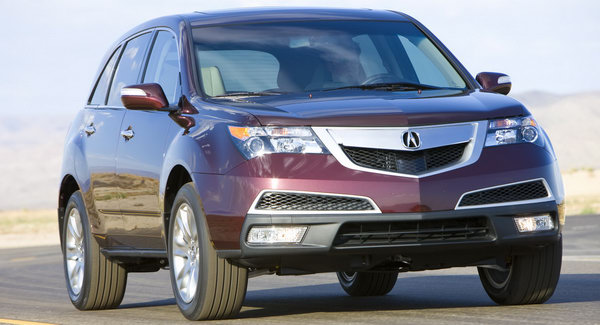 2010 Acura MDX 16 Mildly Facelifted 2010 Acura MDX Priced from $43,040 in the States