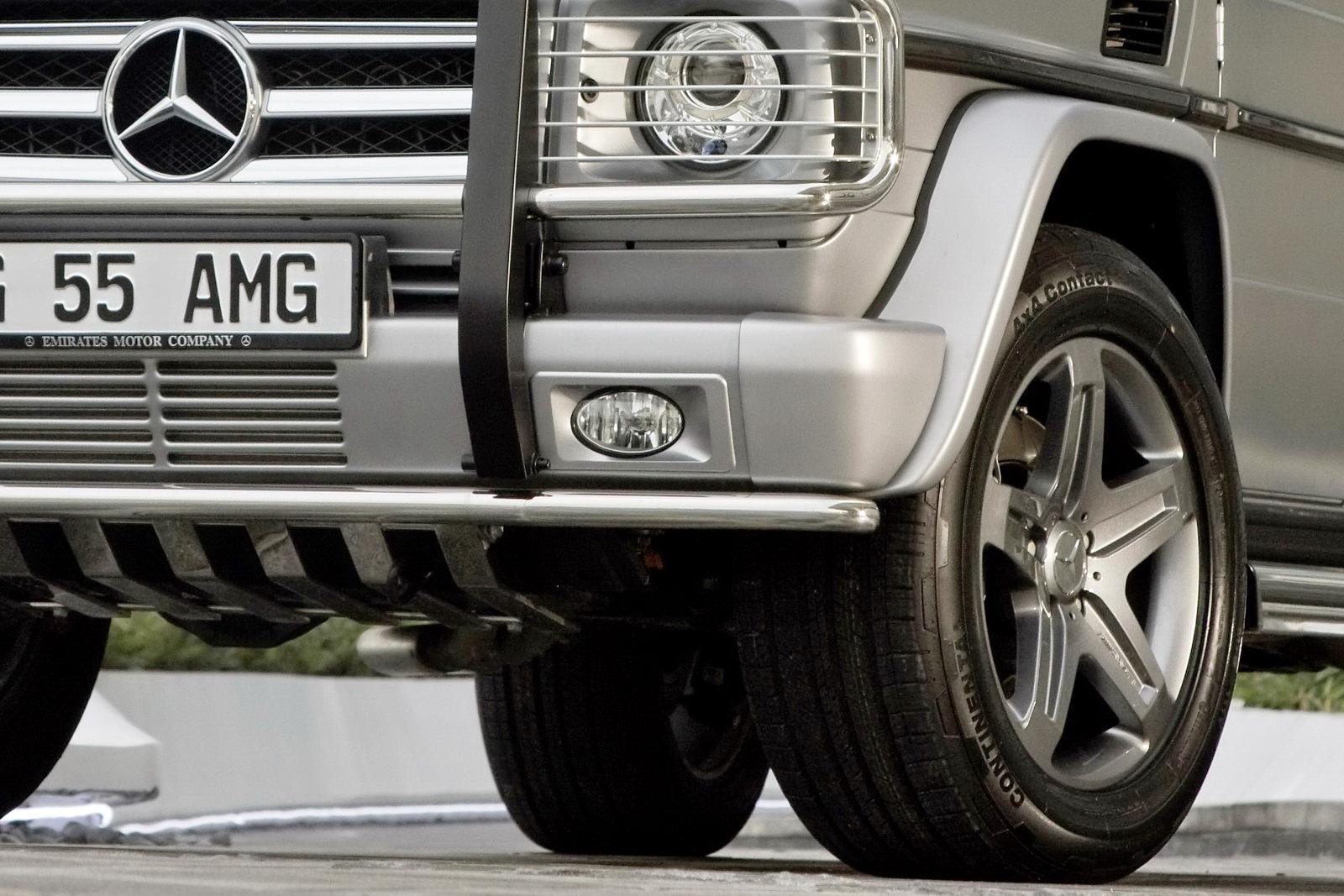 "Mercedes G55 AMG Edition79 39 Dubai Show: Mercedes Benz G55 AMG Kompressor ""Edition 79"" Special"