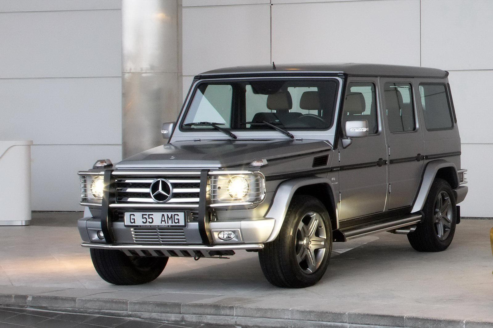 "Mercedes G55 AMG Edition79 45 Dubai Show: Mercedes Benz G55 AMG Kompressor ""Edition 79"" Special"