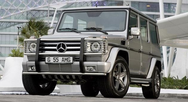 "Mercedes G55 AMG Edition79 0 Dubai Show: Mercedes Benz G55 AMG Kompressor ""Edition 79"" Special"