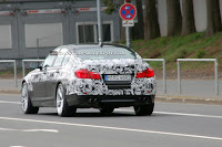 2011 BMW M5 5 SPIED 2011 BMW M5 Super Saloon Sheds More Camouflage Photos